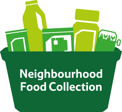 Tesco Neighbourhood Food Coolection days Thursday November 29th, Friday 30th and Saturday 1st December.